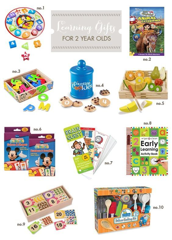 Best Learning Gifts for Two-Year Olds   Hellobee ...