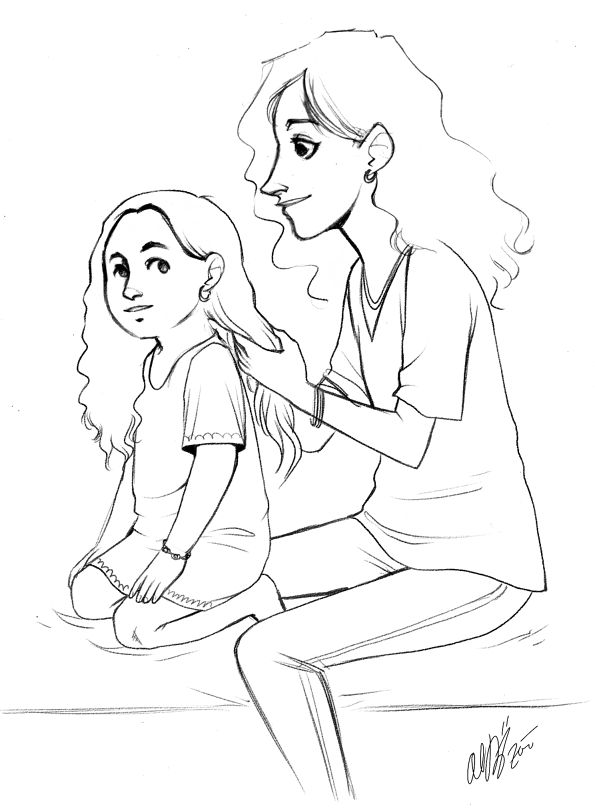 mother and daughter drawings - Google Search | Mother and ...
