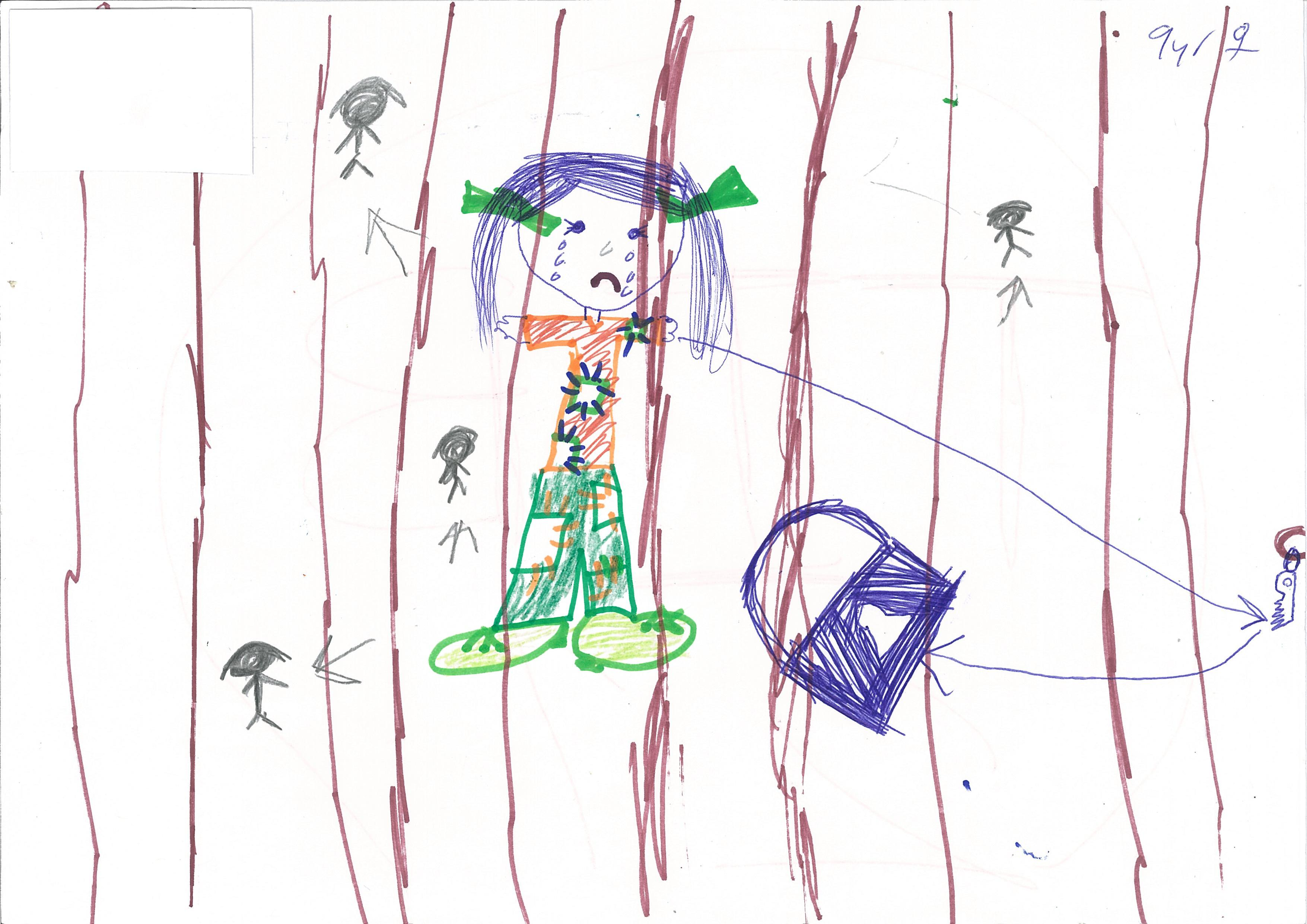 Drawings by children in immigration detention   Australian ...