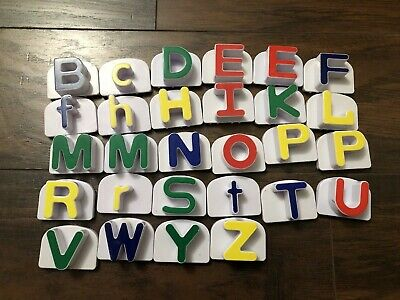 Replacement Alphabet Letters for word whammer leapfrog ...